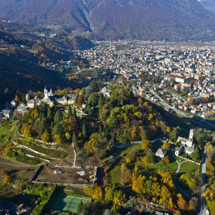 Domodossola - Sacro Monte Calvario - ph. Archivio Comune di Domodossola