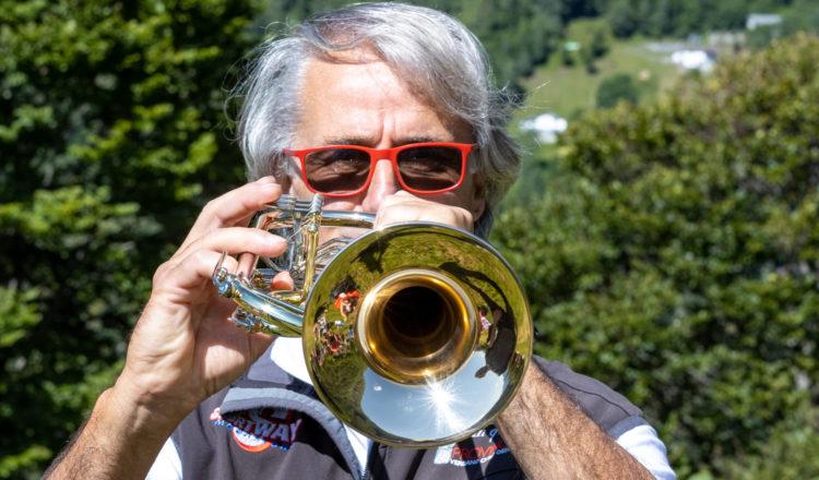 Il Presidente di Musica in Quota, Claudio Cottini- ph. Marco Benedetto Cerini