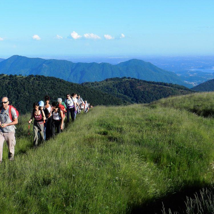 La stupenda escursione panoramica verso Pian d'Arla