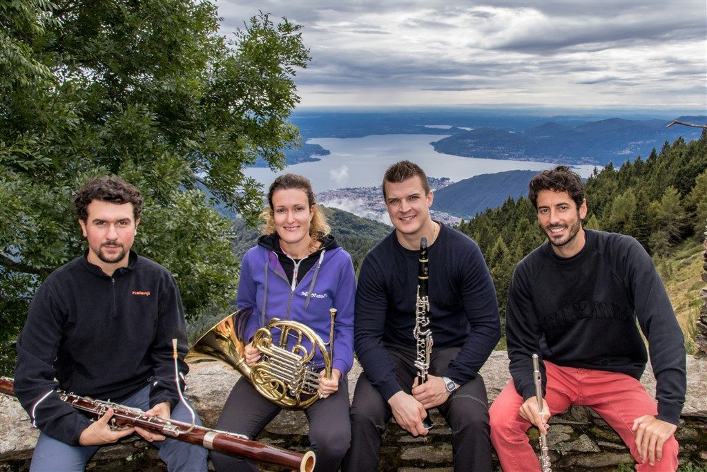 Musica in quota 2017 - Quartetto d'Oc all'Alpe Piancavallone - ph. Marco Benedetto Cerini