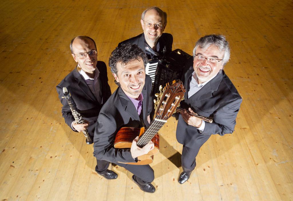 Quartetto Segovio - ph. Andrea Pavan